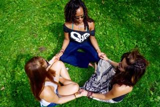 SHE circle - Amber, JuJu & Lily