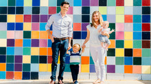 La Jolla Urban Lifestyle Family Session | La Jolla Village