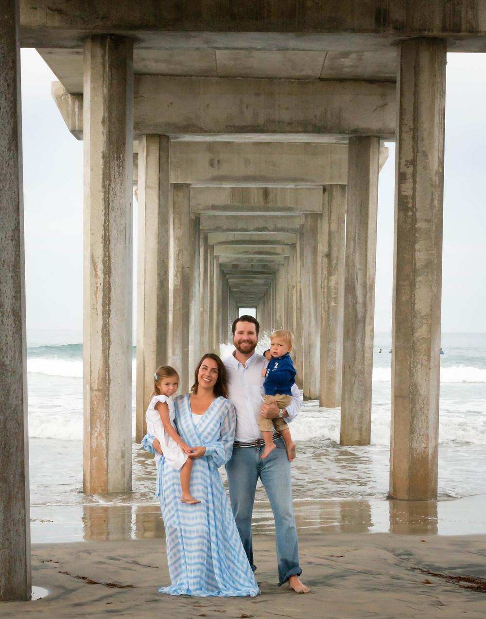 Family Portrait Scripps Pier