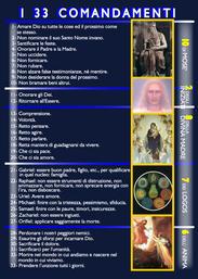 I 33 Comandamenti