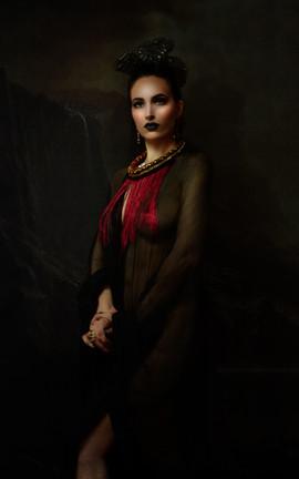 portrait painting2 martina markota lady