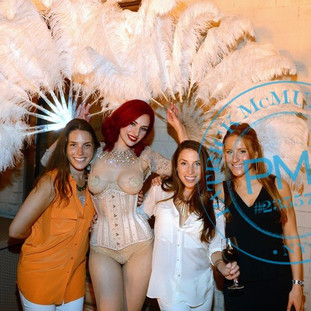 Lady Alchemy burlesque at Maya's Hope Charity Gala