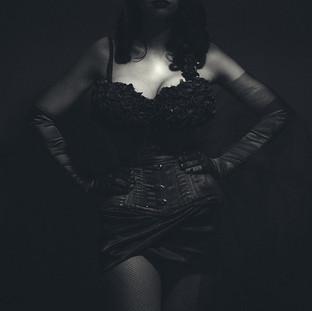 Lady Alchemy Burlesque Portrait
