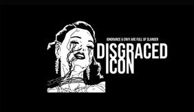 Disgrace Icon merchandising.