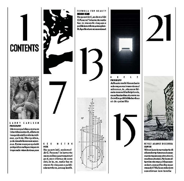 virtus liber issue one contents
