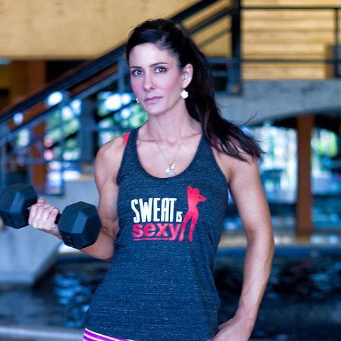 Sweat is Sexy Ladies Tank
