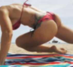 I took the ab workout on the beach befor