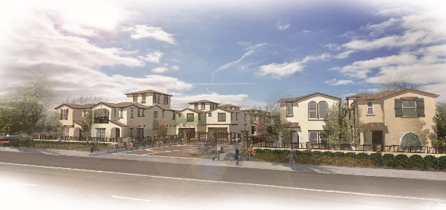 Huntington Sierra Oaks Rendering