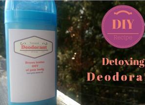Detoxing Deodorant Recipe