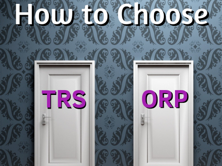 How to Choose between TRS & ORP