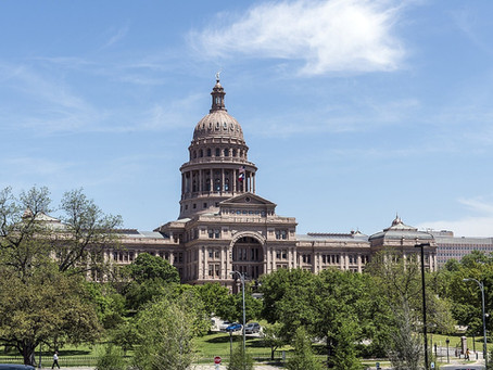 Texas Legislature Picking Up Steam