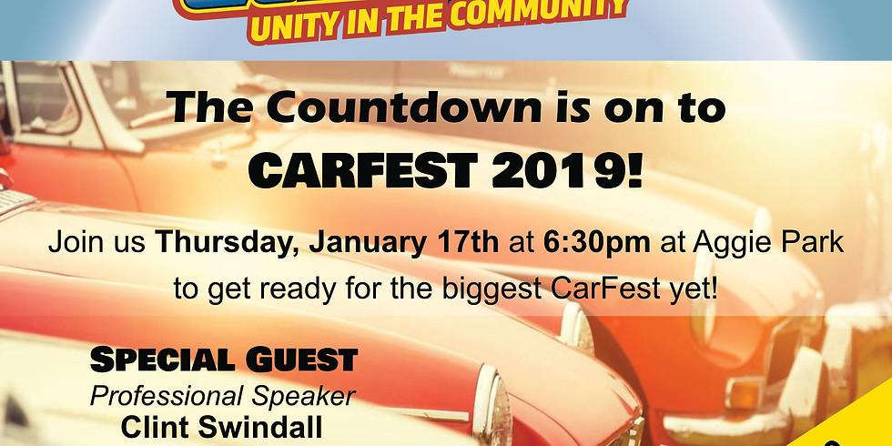 CarFest Volunteer Meeting
