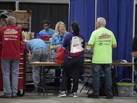 Volunteering At CarFest