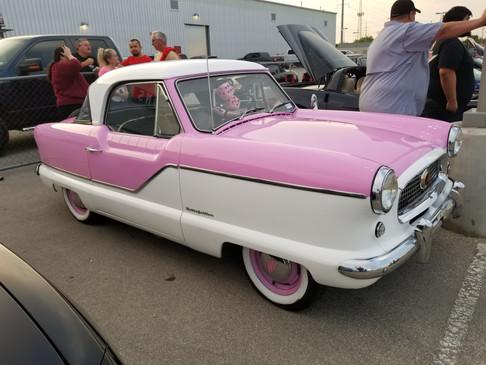 Pink Car at FNL