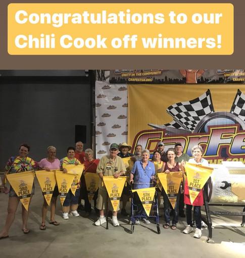 Casi Chili Cook-Off Winners