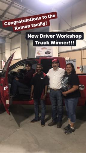 New Driver Program Winner
