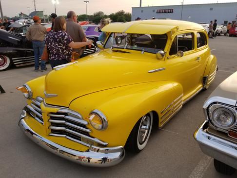 Yellow Car at FNL