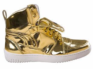 Gold High Tops