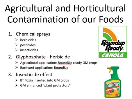 Precautionary Principle: Be concerned about Glyphosate