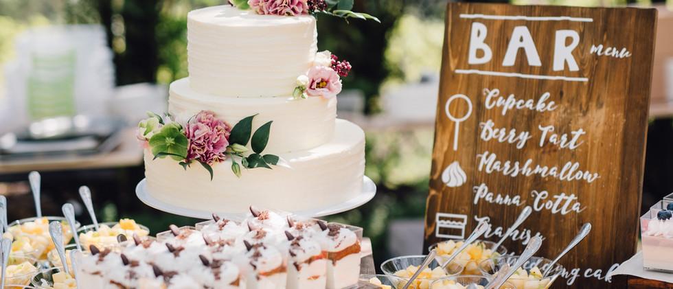 Das perfekte Hochzeitscatering