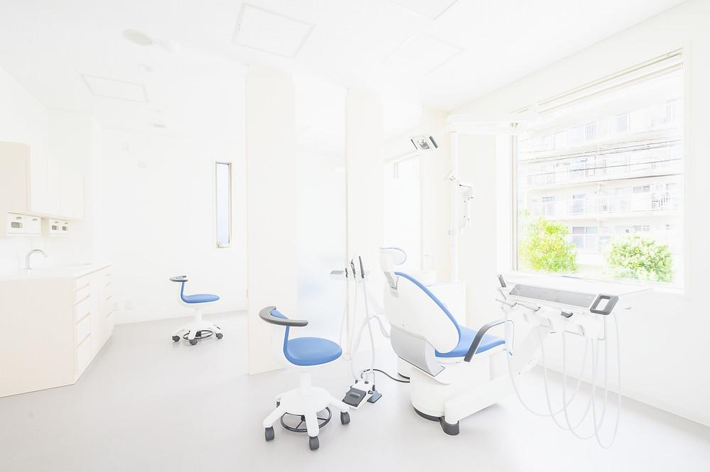 きれいな診療室