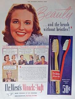 歯ブラシのチラシ
