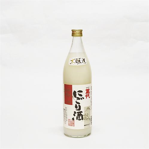 萬代 本醸造 にごり酒 900ml