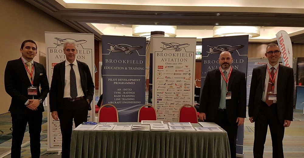 Brookfield Education and Training at Pilot Career Event in Rome
