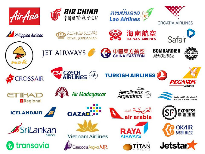 Our Clients in the aviation industry