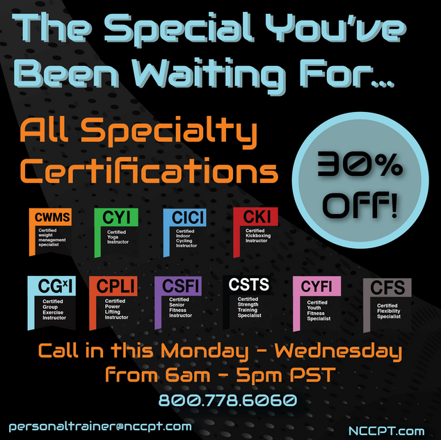 Specialty Certs Promo