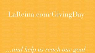 La Reina Day of Giving