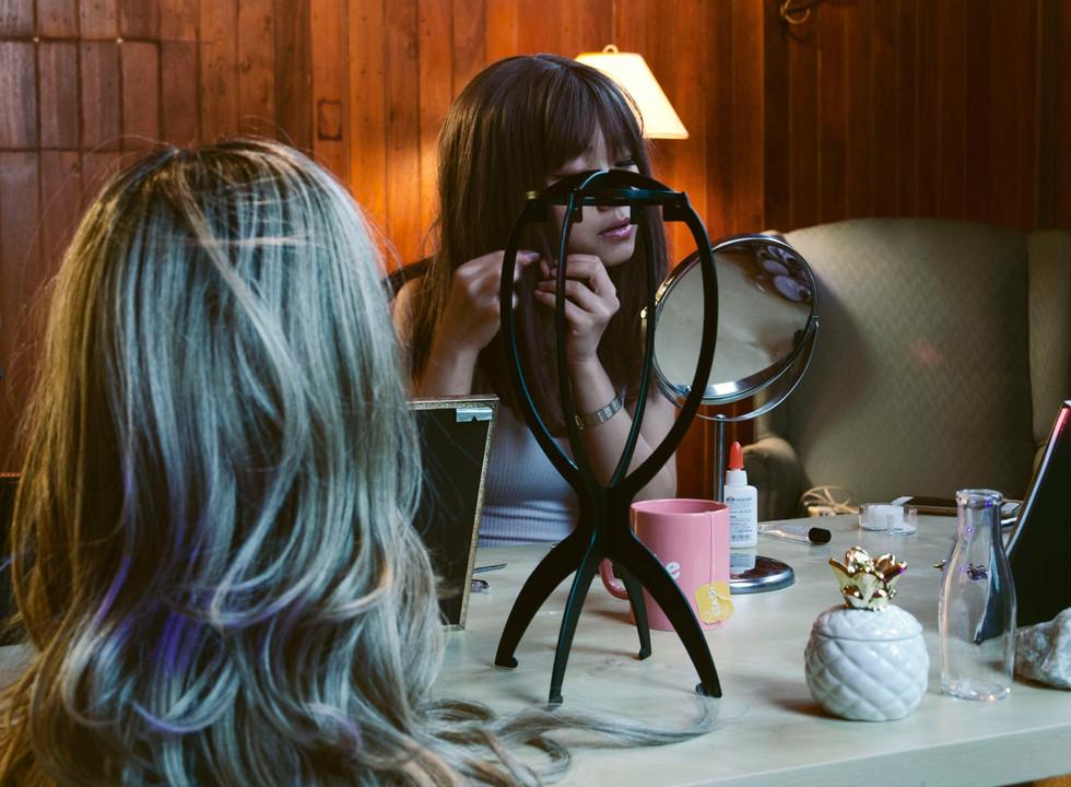 Mia In Her Makeup Room