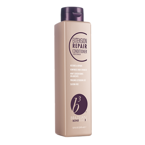 Multi-active treatment repairs signs of damage to natural and extension hair to