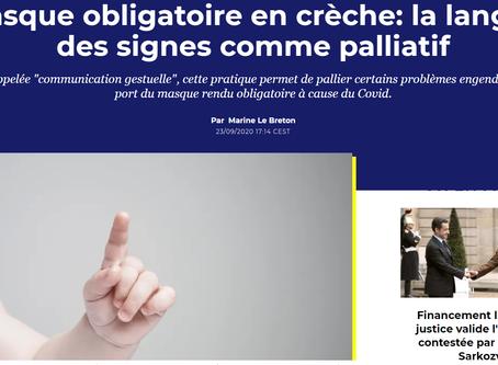La langue des signes : une alternative en crèche