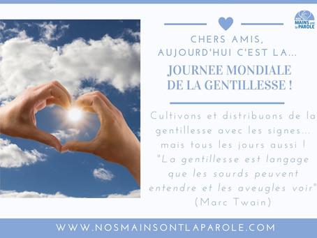 Journée mondiale de la gentillesse