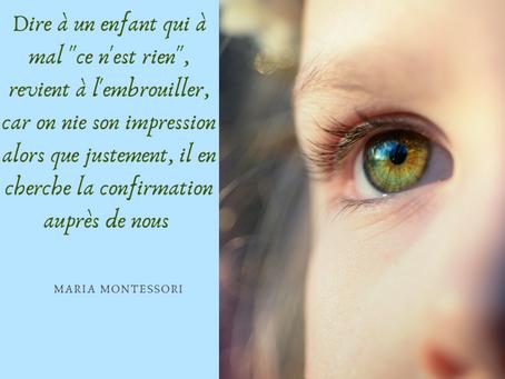 Montessori : des émotions et des signes