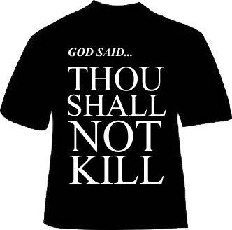 Thou Shall Kill Shirt