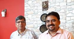 Mr. Dinesh Garg with Gaurav