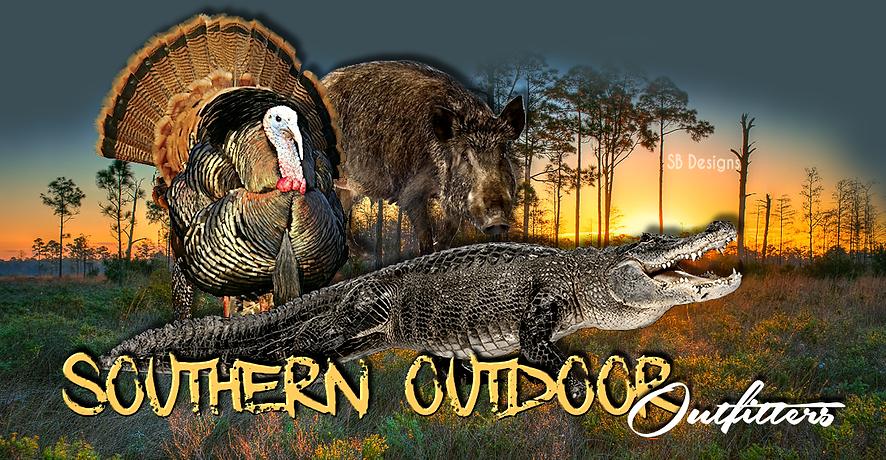 Osceola Turkey, Alligator, Wild Hog