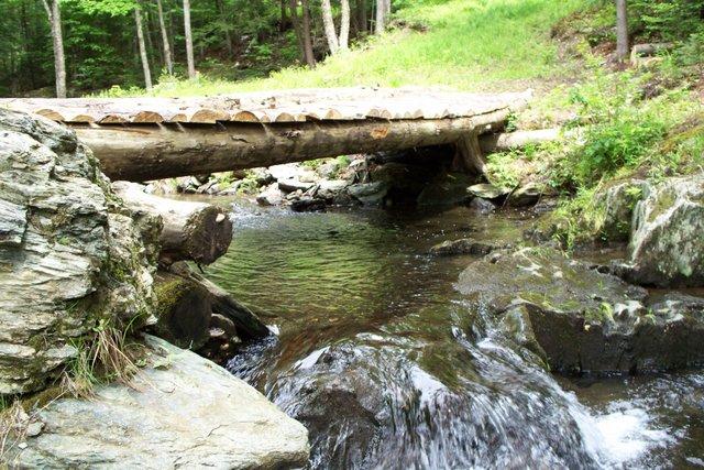 Bridge to the Fairy's pool