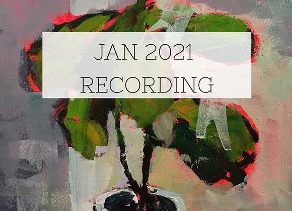 January 2021 Paint Class Recording