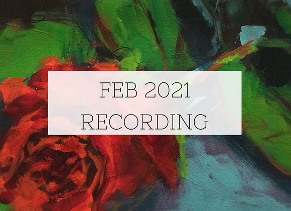 February 2021 Paint Class Recording