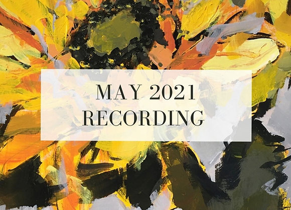 May 2021 Paint Class Recording