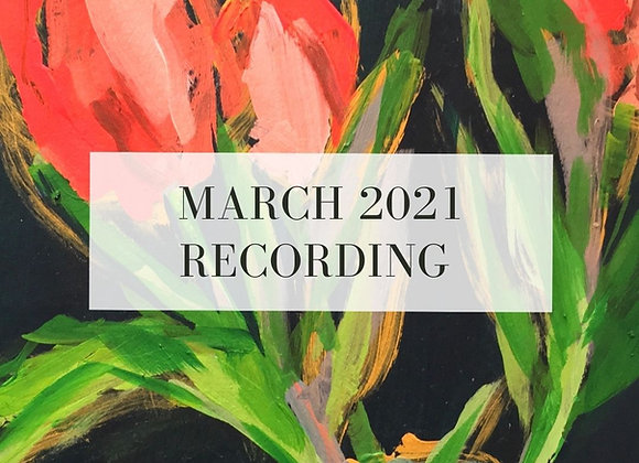 March 2021 Paint Class Recording