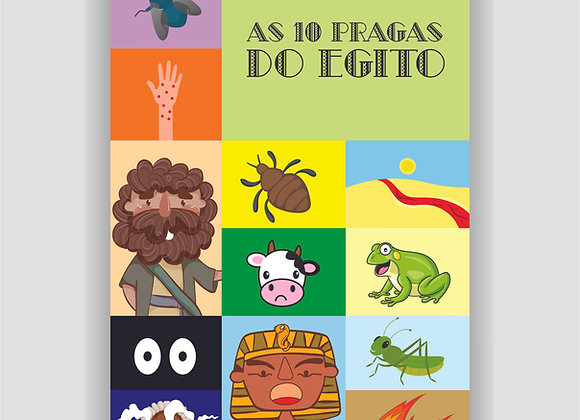 As dez pragas do Egito (E-BOOK)