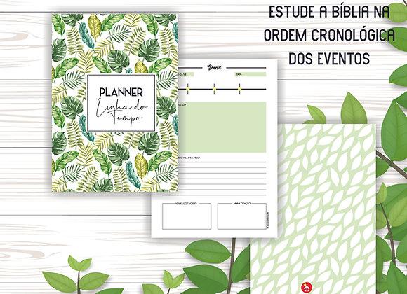 FOLHAGEM   Planner Bíblico Linha do Tempo (PDF)