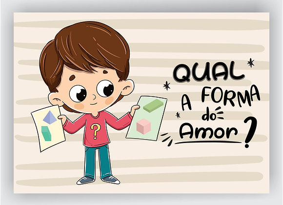 Qual a forma do amor? (E-BOOK)
