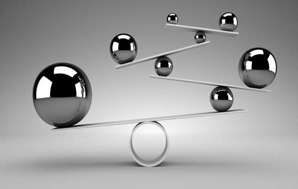 Balance silver balls