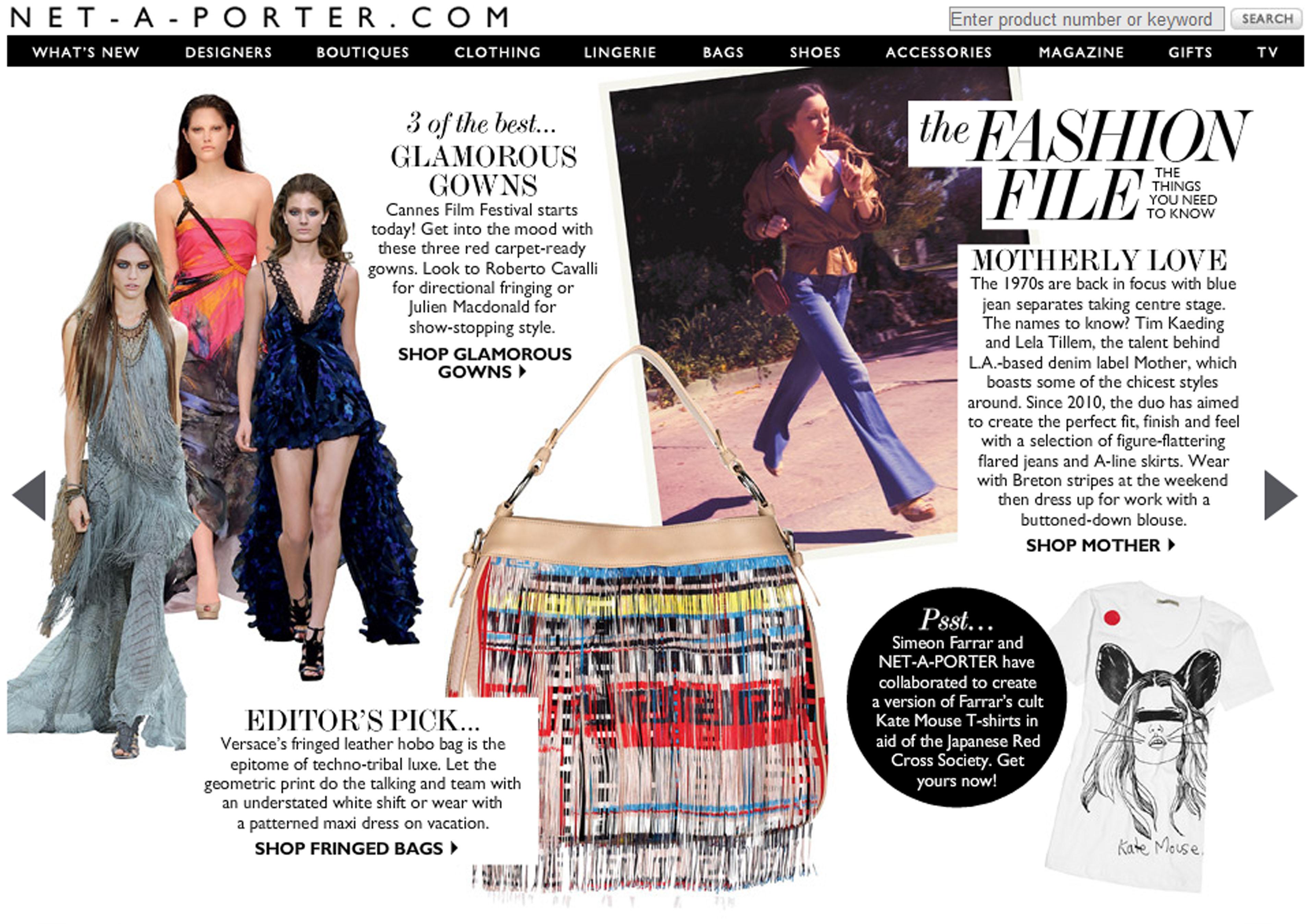 Net a Porter Magazine