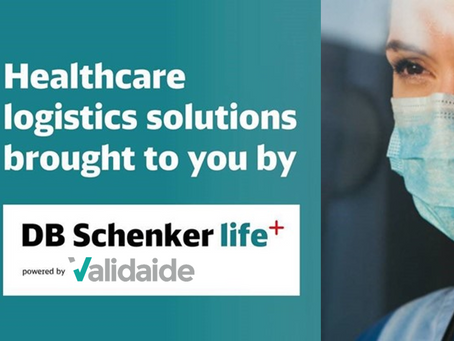 DB Schenker selects Validaide to support its Healthcare logistics solutions.